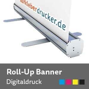 Roll Up Display inklusive Druck