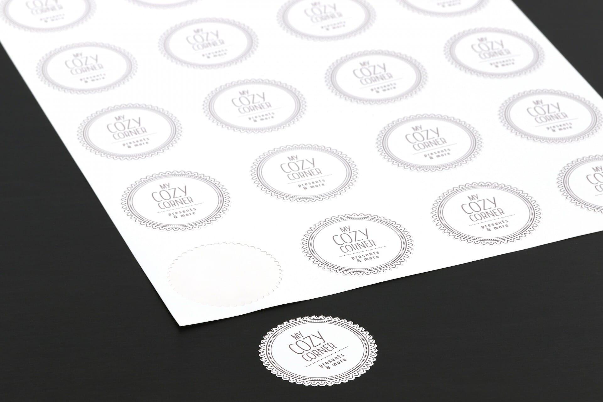 Aufkleber Drucken Aufkleber Digitaldruck