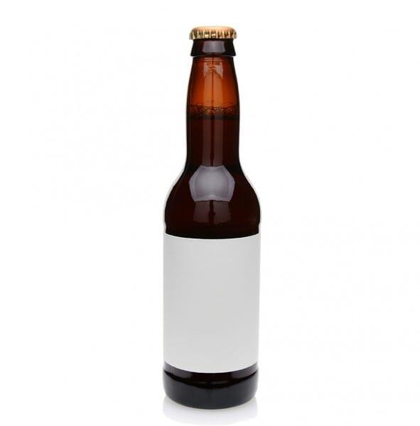 Aufkleber Bierflaschenetikett