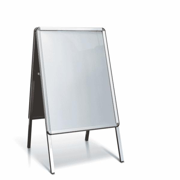 Kundenstopper Standard Aluminium (Format: DIN A1 59,4 x 84,1 cm)