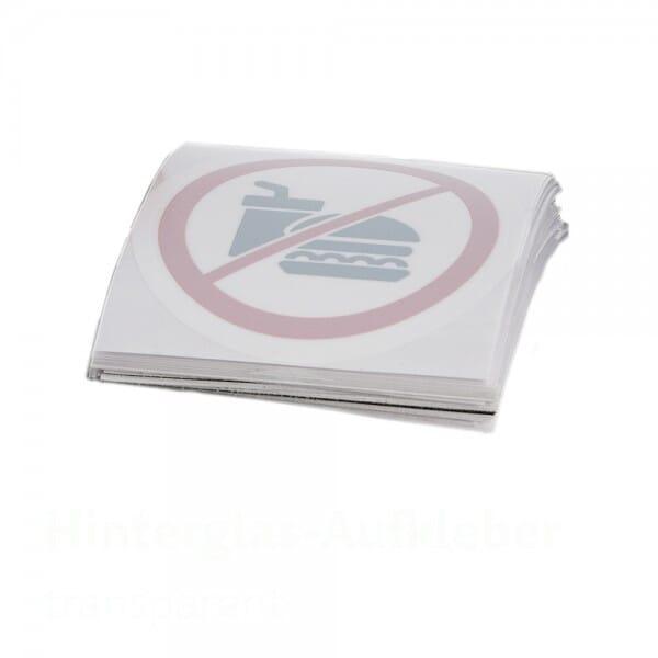 Hinterglasaufkleber Vinyl 2-4 Jahre Haltbarkeit