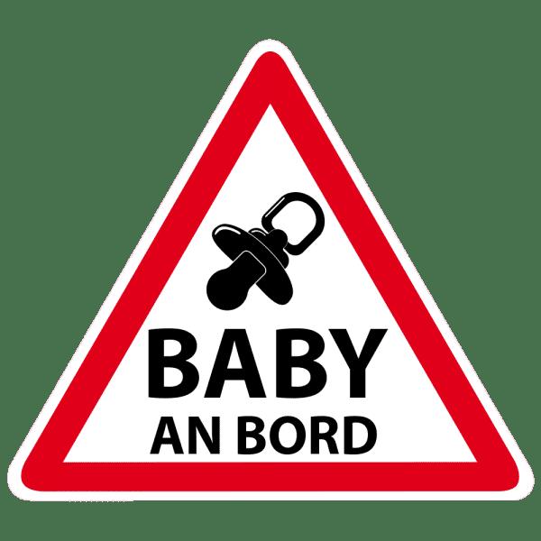 Baby an Bord 120x120 mm (2 Stück )